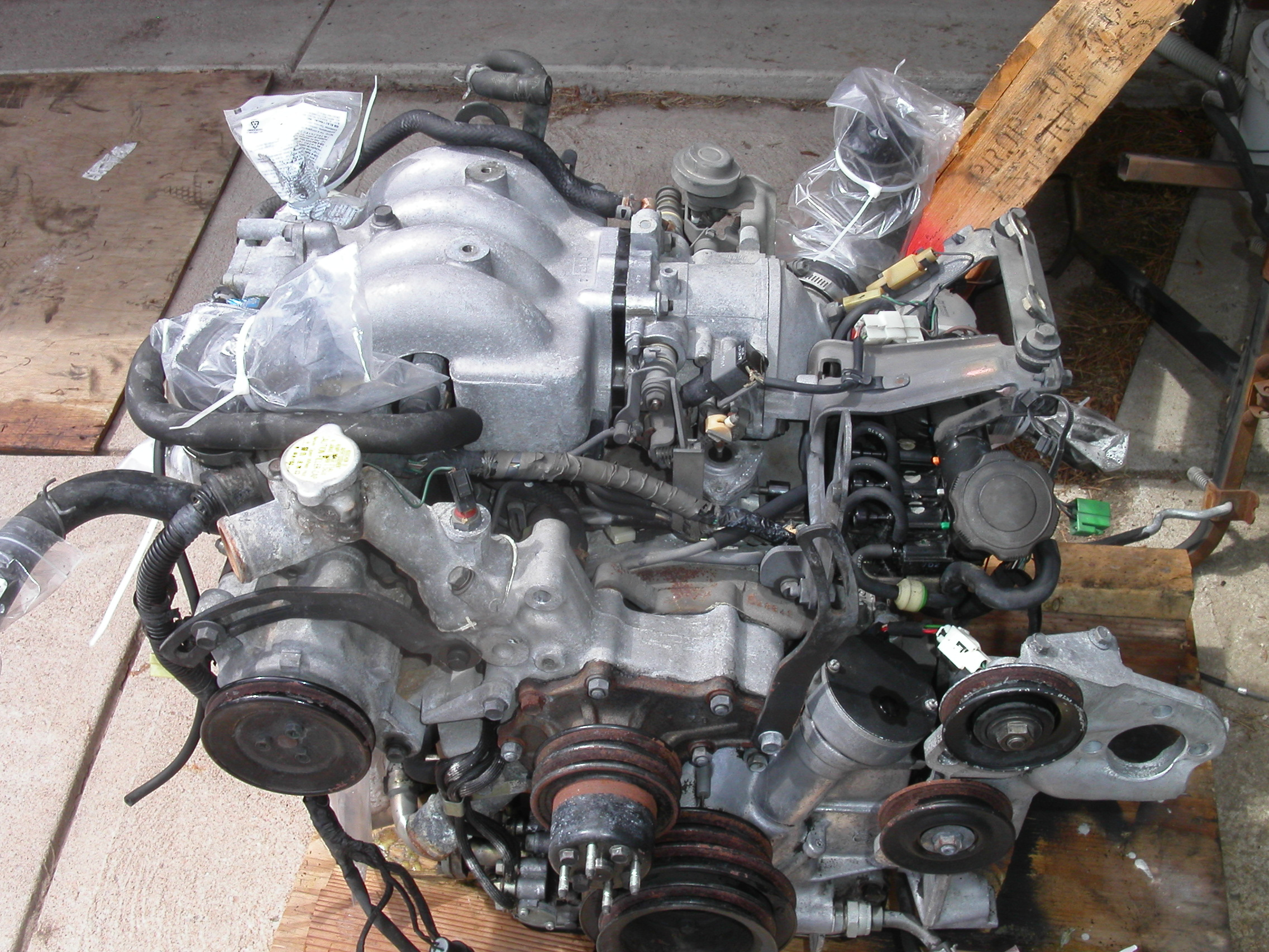 Pathfinder Turbo >> RX7 Turbo II Project For Sale | S4 Long-Block Engine